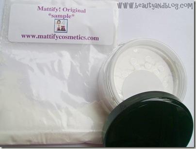 Mattify Original (Sample Baggie) and Mattify Ultra Review