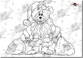 Santa_bear_water