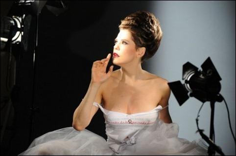 Bárbara Paz campanha L'Oréal