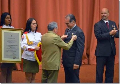 Medalla a René