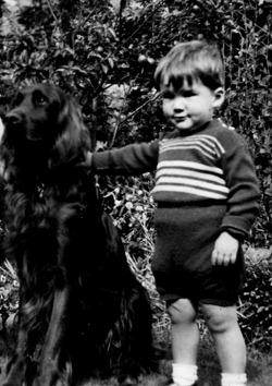 Calum and Dog