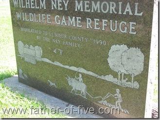 Ney Nature Center - Wilhelm Ney Memorial