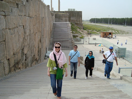 Things to see in Persepolis: Stairs of all nations