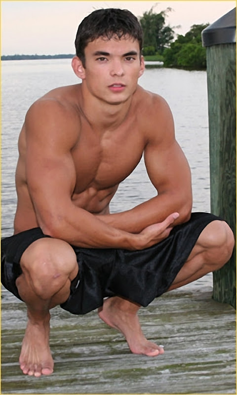 Young Dude on Pier