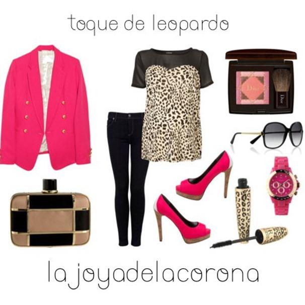 con leopardo