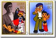 Osamu Tezuka with Astro Boy