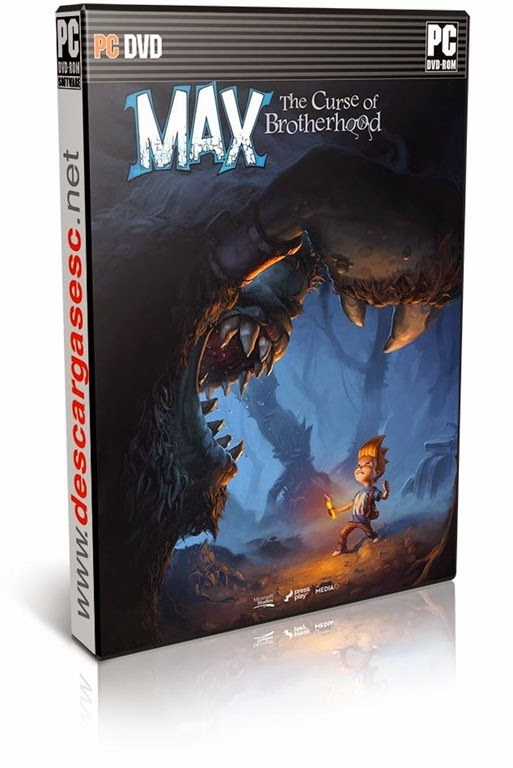 Max The Curse of Brotherhood-RELOADED-pc-cover-box-art-www.descargasesc.net