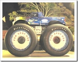 Florida vacation Old Town Big Fun monster truck