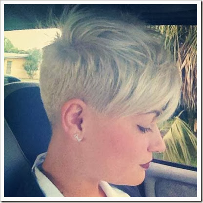 contoh model rambut pendek