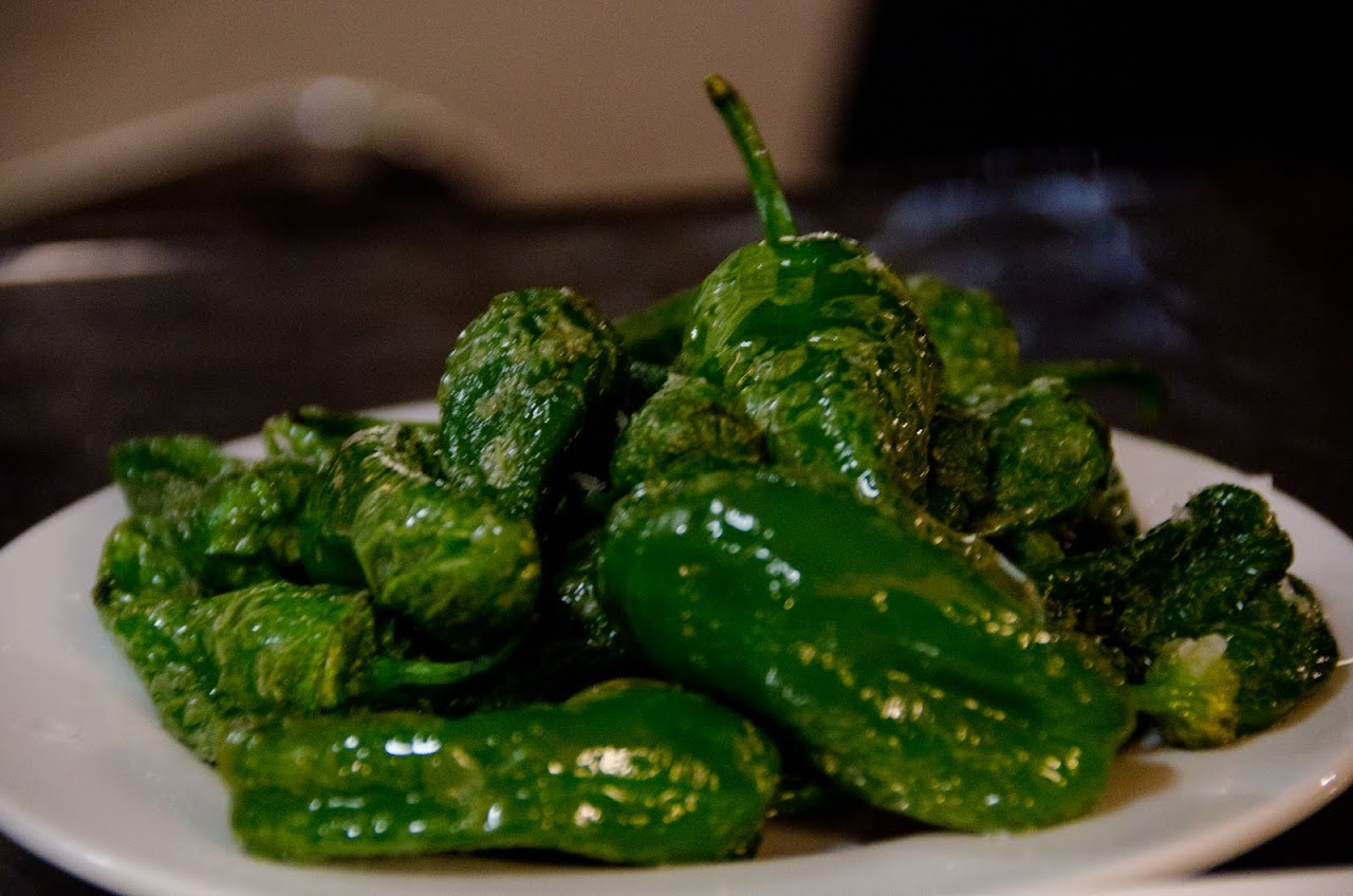 Pimientos padron
