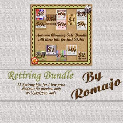 Romajo - Retiring Kits