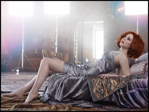 Christina Hendricks linda sensual sexy sedutora decote peito desbaratinando (52)