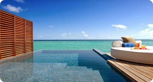 Honeymoon destination in Maldives