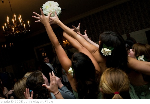 'Bouquet toss' photo (c) 2008, John Mayer - license: http://creativecommons.org/licenses/by/2.0/