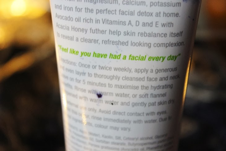 una brennan tea flower clay mask skincare review