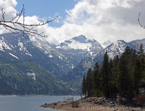 Lake Como and Trapper Peak