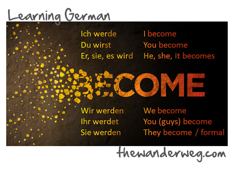 to become the wander weg