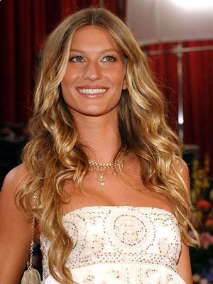 Gisele Bundchen's long layers