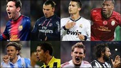 Equipos clasificados a cuartos de final de la Champions League