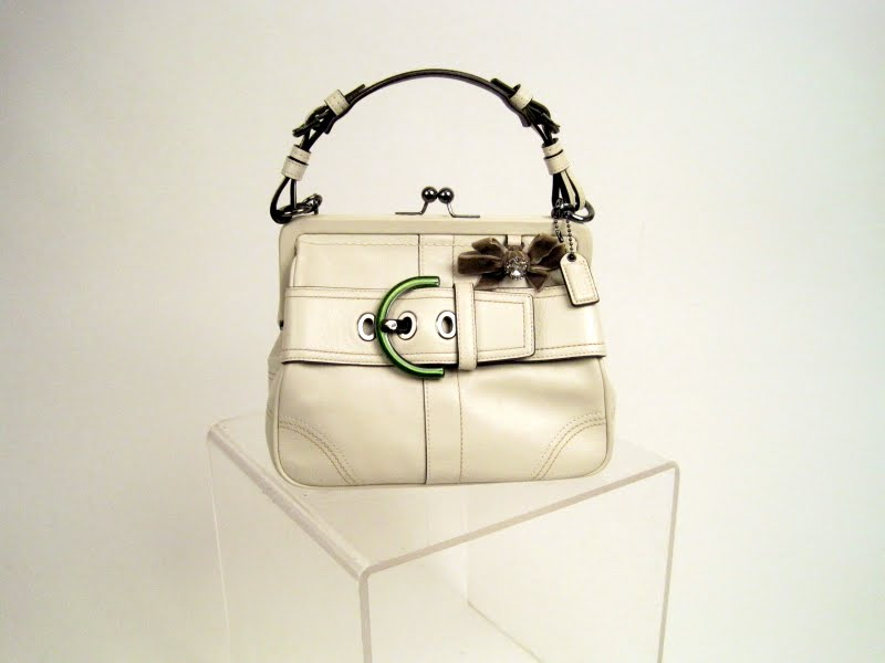 Coach Mini Frame Satchel
