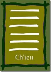 I Ching 1 Ch'ien hexagrama