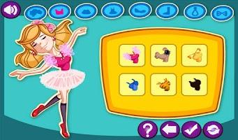 Screenshot of Ballerina Dream