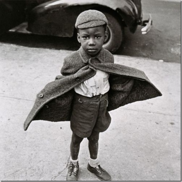 Jerome Liebling, Butterfly Boy, New York City, 1949.
