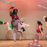 伝統舞踊のひとつ、仮面劇。