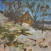 Вікторія Білецька Будиночок на снігу п.о. 45,5x44.JPG