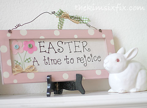 Easter time to rejoice
