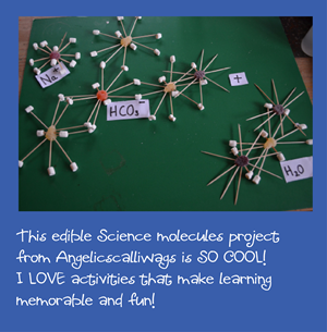 Edible Science Molecules featured at 123 Homeschool 4 Me