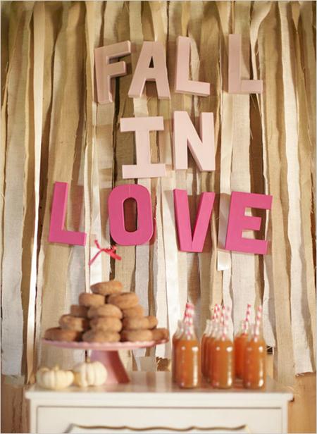 Semplicemente Perfetto Fall Wedding Idea 6