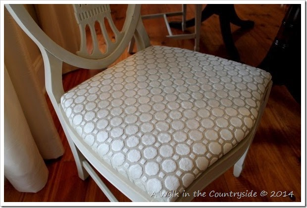 neutral fabric for dining room chairs