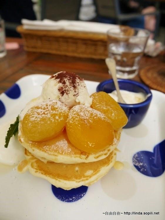 杏桃鬆餅屋-杏桃馬斯卡彭鬆餅2
