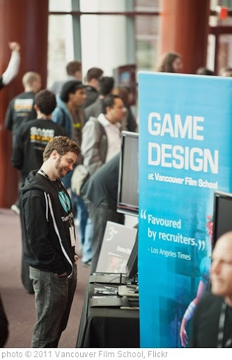 'Game Design Expo 2011' photo (c) 2011, Vancouver Film School - license: http://creativecommons.org/licenses/by/2.0/
