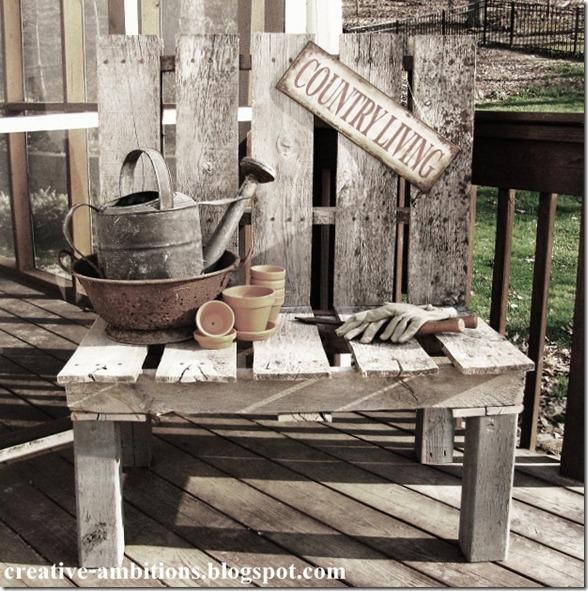 pallet bench 7