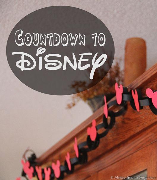Disney Countdown by MomsGonnaSnap
