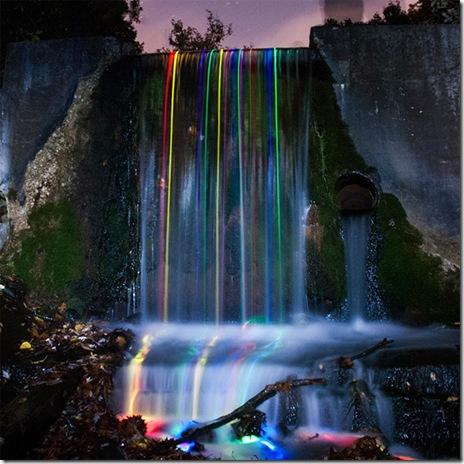 poze cascade luminate