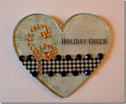 Podgeable Ornament w Hanger
