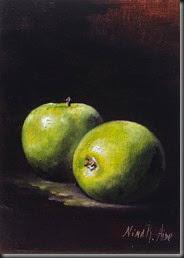 Green Apples 7x5