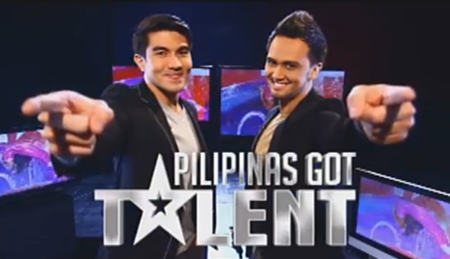 Luis Manzano and Billy Crawford host Pilipinas Got Talent 4