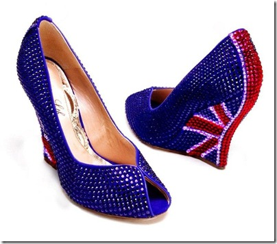 Aruna Seth Union Jack Wedge