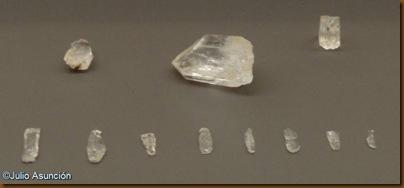 Piezas elaboradas con cristal de roca - Ibero - Museo de Navarra