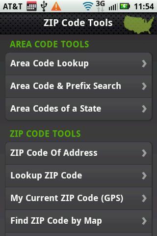 Zip Locator