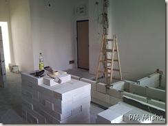 Obras no interior da casa