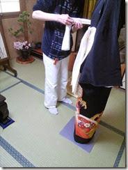略礼装着から留袖の他装着付け (5)
