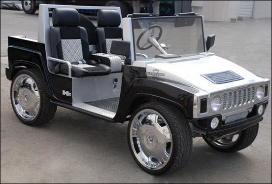 most luxurious golf carts to in style 06