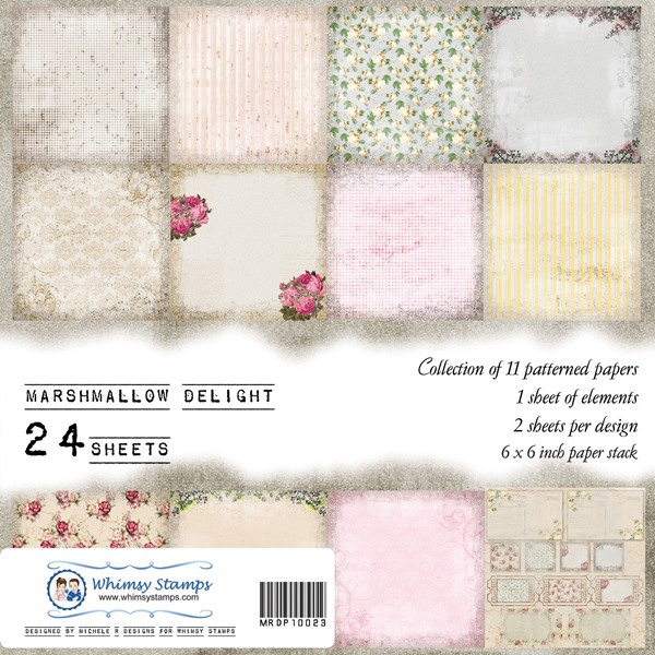 Marshmallow Delight Front Sheet