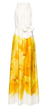 Flower halter dress3