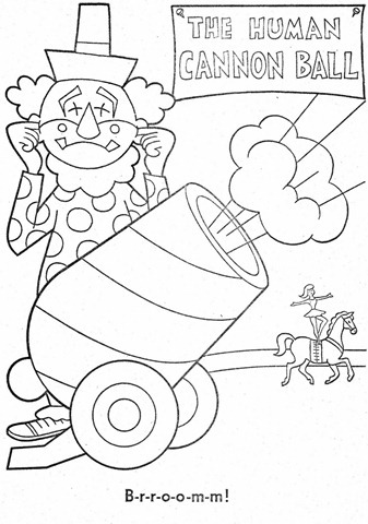 palhaço-colorir-Clowns To Color-coloring page-00031